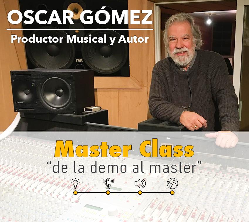 masterclass oscar gómez