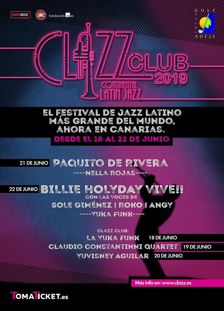 cartel clazz canarias 2019